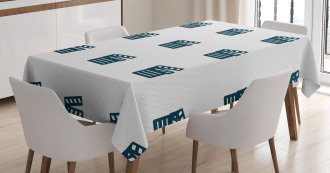 Minimalist Motifs Tablecloth