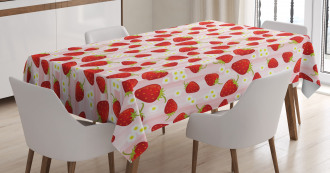 Summer Fruit Snacks Tablecloth