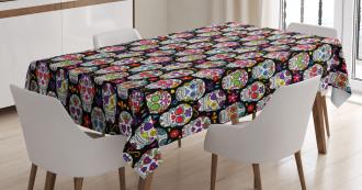 Skeleton Theme Tablecloth