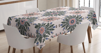 Ethnic Ornament Print Tablecloth