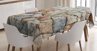 Rustic Natural Wall Tablecloth