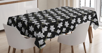 Countryside Flowers Tablecloth