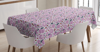 Garden Art Pattern Tablecloth