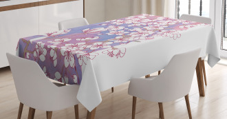 Japanese Spring Bloom Tablecloth