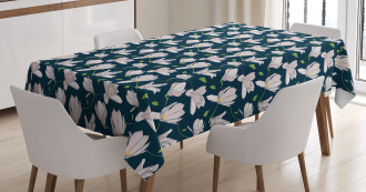 Japanese Sakura Flower Tablecloth