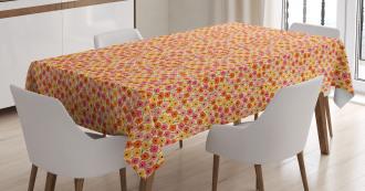 Botanical Nature Bloom Tablecloth