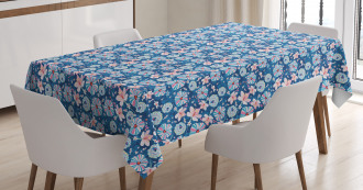 Seasonal Nature Bloom Tablecloth