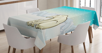 Arctic Animal Family Tablecloth