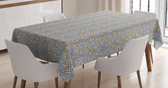 Abstract Spotty Tablecloth