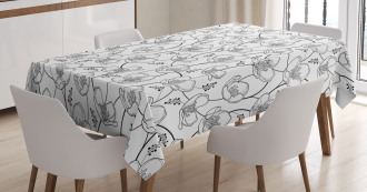 Intertwined Branches Tablecloth