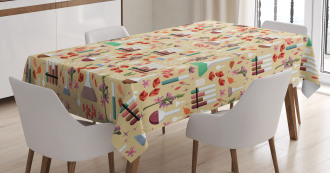 Colorful Leaves Tablecloth