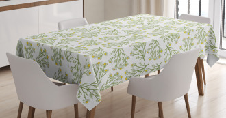Retro Daisy Spring Tablecloth