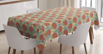 Nostalgic Garden Artwork Tablecloth
