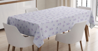 Small Spring Blossoms Tablecloth