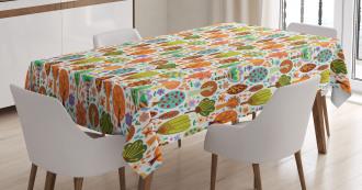 Spring Nature Habitat Tablecloth