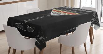 Cosmopolitan Recipe Tablecloth