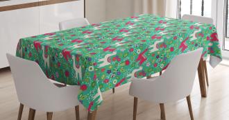 South American Fauna Tablecloth