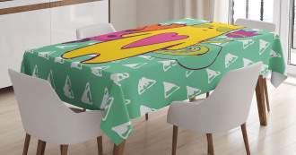 Hipster Mammal Sunglasses Tablecloth