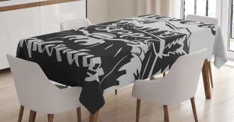 Road to the Mountains Tablecloth