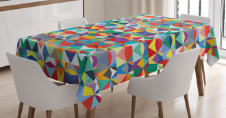 Chevron Triangles Tablecloth