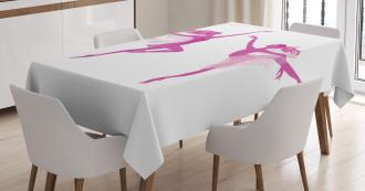 Ballerina Fairies Dancing Tablecloth