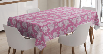 Botany Gardening Themed Tablecloth