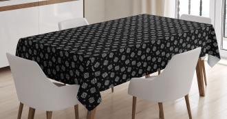 Traditional Ethnic Folk Tablecloth