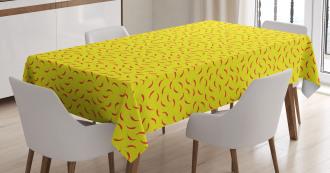 Paprika Healthy Pattern Tablecloth