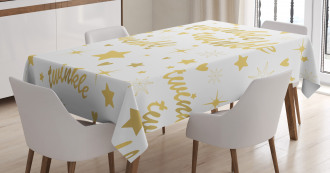 Baby Shower Inspired Design Tablecloth