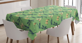 Insects and Butterflies Tablecloth