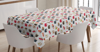 Various Yummy Graphic Rolls Tablecloth