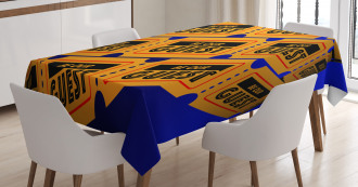 Event Theatre Tickets Tablecloth