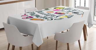 Collect Beautiful Memories Tablecloth