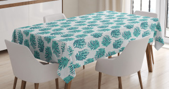 Ornate Botanical Conifers Tablecloth
