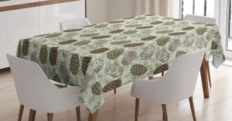 Greenland Foliage Forest Tablecloth