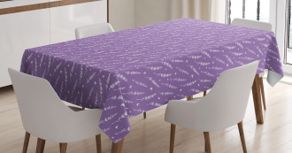 Lavender and Butterflies Tablecloth