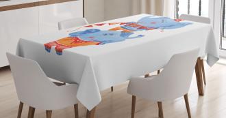 Circus Animal Tablecloth
