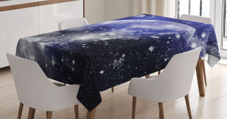 Nebula Galaxy Scenery Tablecloth