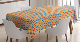 Moroccan Style Motifs Tablecloth