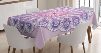 Kaleidoscope Effect Tablecloth