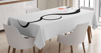 Traditional Asian Beauty Tablecloth