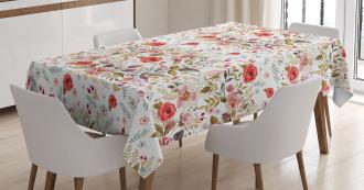 Romantic Feminine Spring Tablecloth