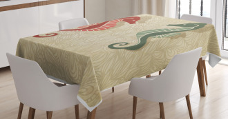 Colorful Beach Tablecloth
