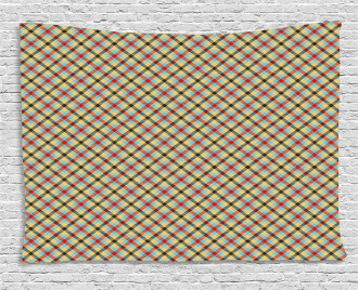 Classical Stripes Wide Tapestry