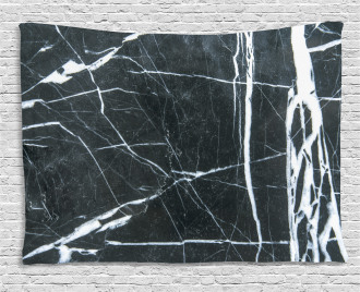 Grunge Natural Stone Wide Tapestry