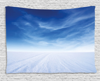 Snowy Mountain Photography Wide Tapestry