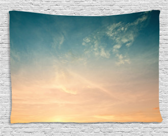Horizon Summer Time Photo Wide Tapestry