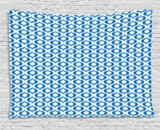 Abstract Vintage Ogee Wide Tapestry