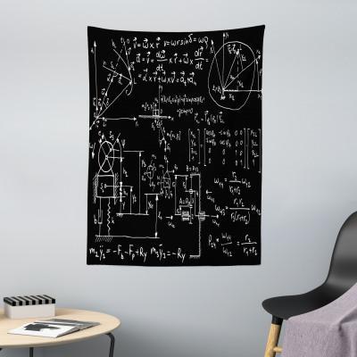 Physik Bettwäsche Set Mechanische Formel Skizzierter