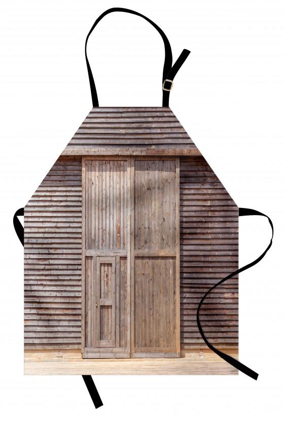 Ahşap Kapı ve Duvar Mutfak Önlüğü Dekoratif